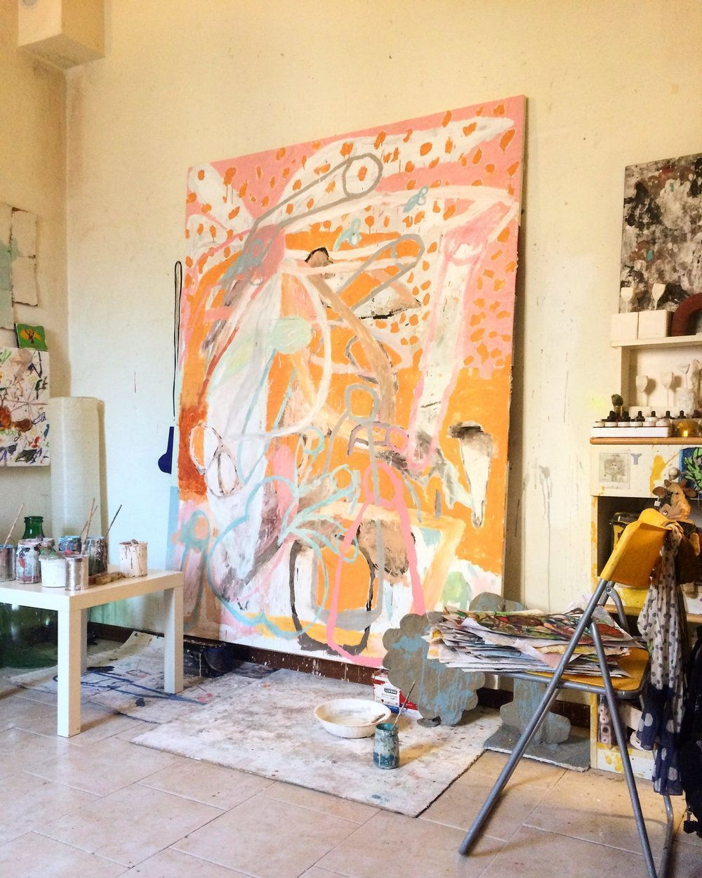 Apr 12 work(space) in progress | Paintings, Artist and Artist studios