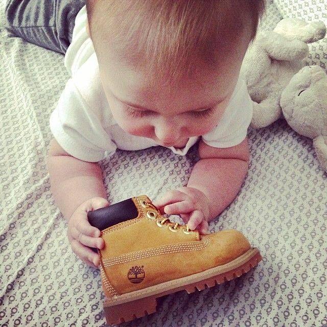 mini timberlands baby