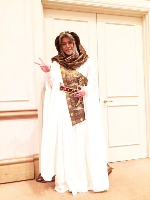 本日は、ミュージカル「王家の紋章」の、製作発表が行われました!!イズミル王子役で出演させていただく宮野は、この、イズミル王子の衣装を身に纏って登壇しましたよ!!製作発表では、ミュージカルのナンバーを生で歌うと言う、めっっっっっっちゃくちゃ緊