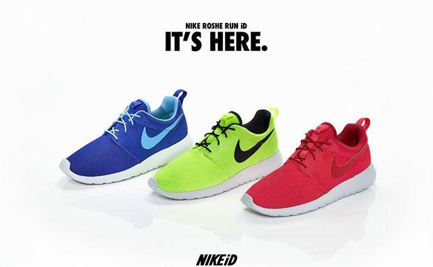Nike Roshe Run iD Samples   Stuff   Nike roshe run, Nike id