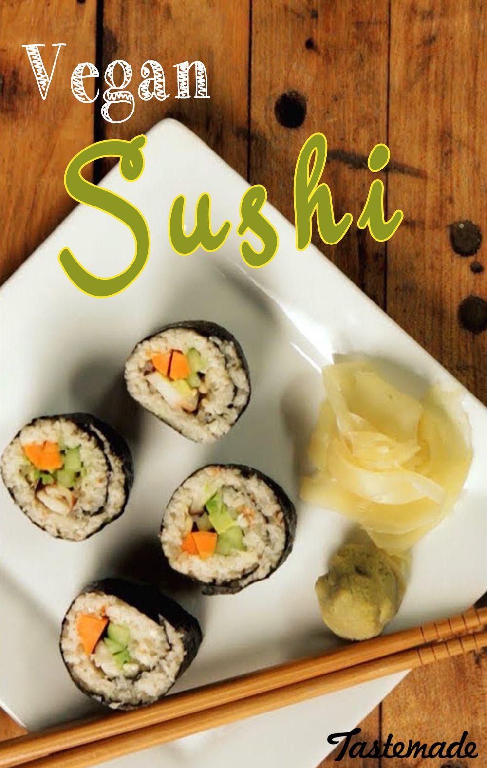 Grab your chopsticks! We're making sushi, Vegan Sushi that is. Domo arigato.