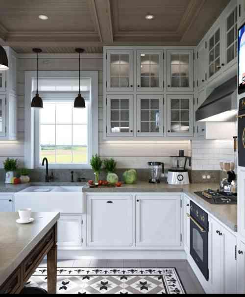 Déco appartement de style provençal: 2 exemples inspirants | Küche