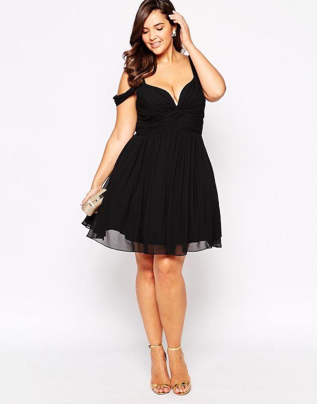 Maddy S Top 5 Favorite Plus Size Little Black Dress Styles Plus Model Magazine Trendy Plus Size Dresses Dresses Plus Size Cocktail Dresses