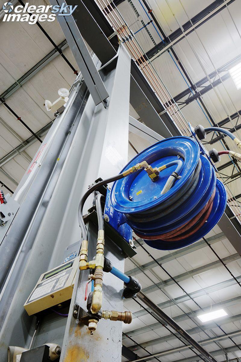 CAT Lift One Warehouse hosing system