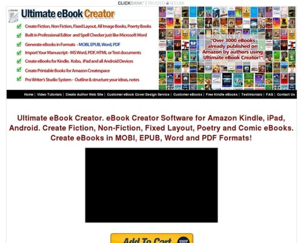 eBook Creator Software - Ultimate eBook Creator For Amazon