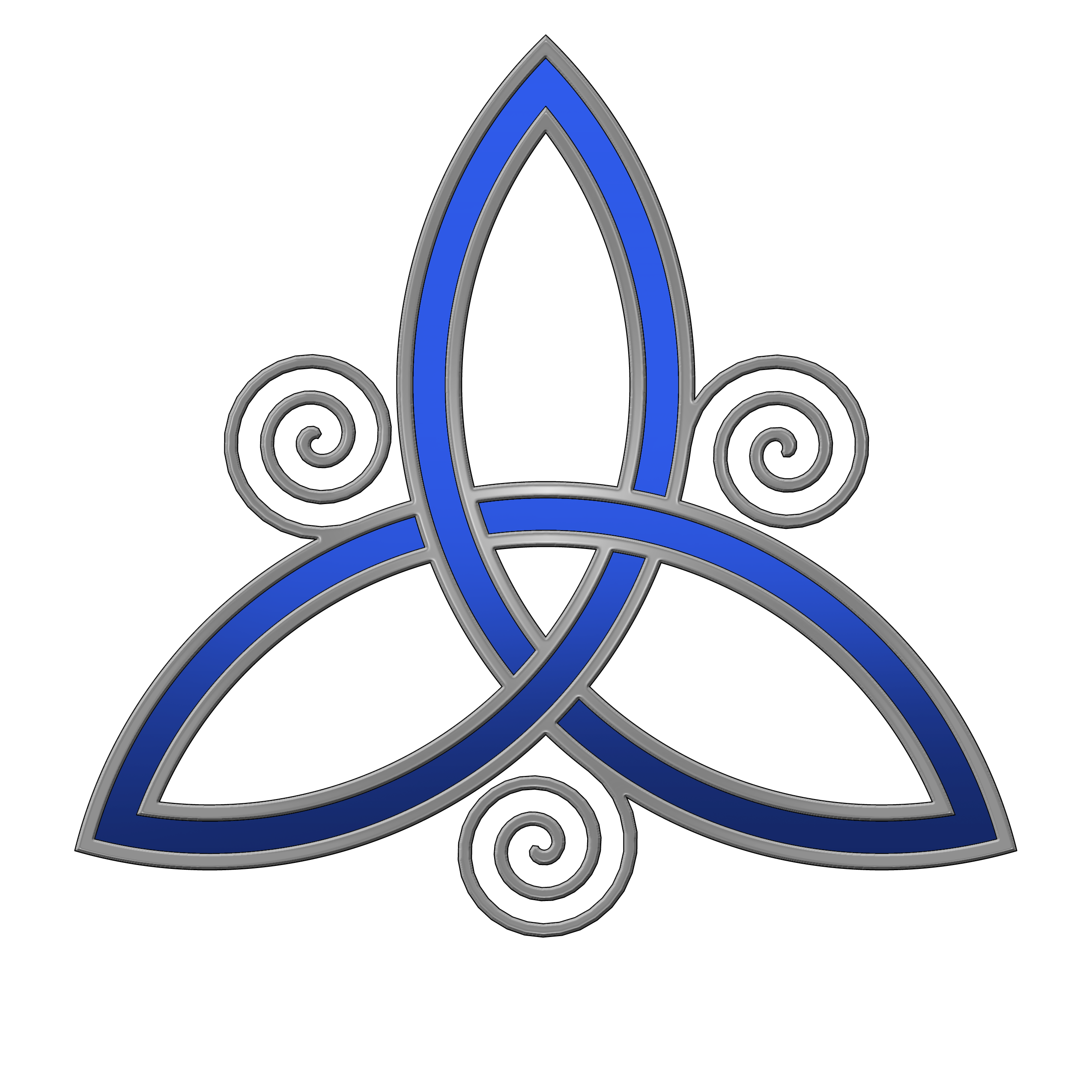 Blue trinity knot tattoo design ideas for tattoos pinterest the celtic trinity symbol meaning father son holy spirit i think beautiful symbol wa beautiful meaning it would also make an amazing tattoo biocorpaavc Choice Image