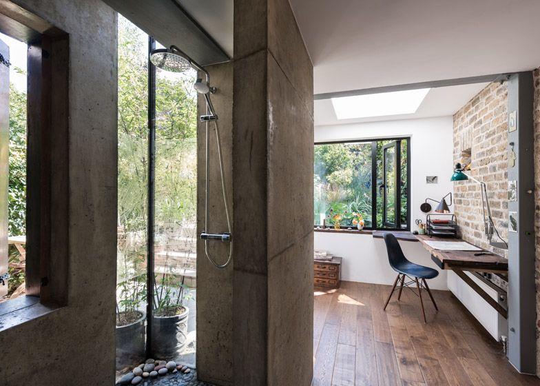 Thuiskantoor Uitbouw Tuin : Mw architects house extensions maximise garden views