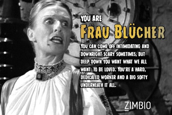 Which 'Young Frankenstein' Character Are You?