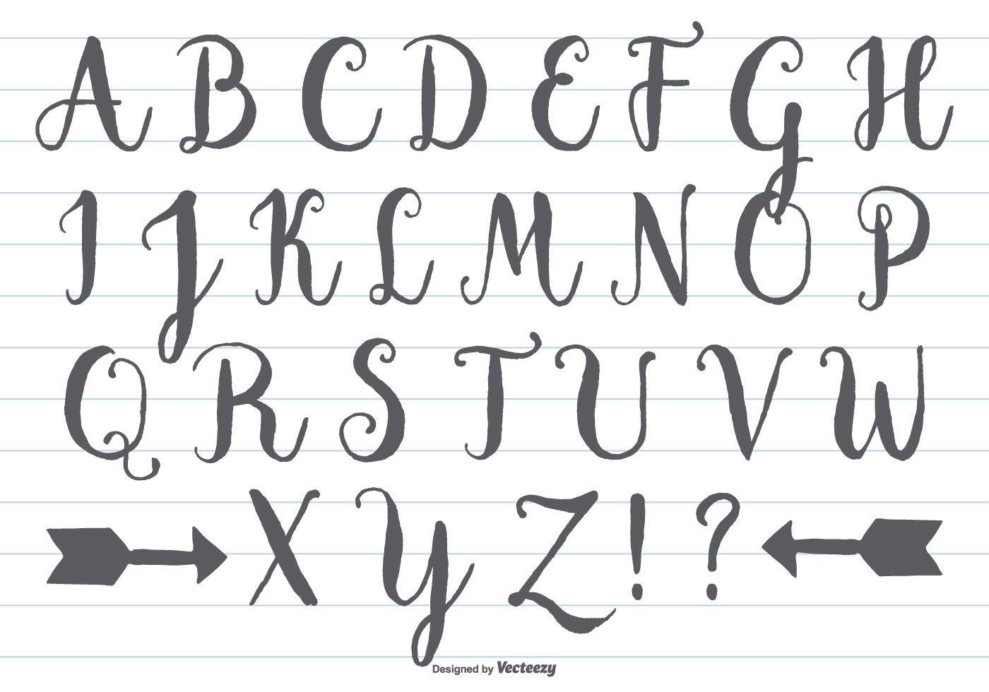 Free Calligraphy Worksheets Handwritingcalligraphy