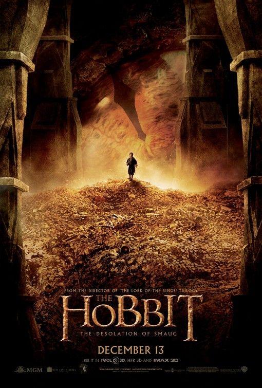 The Hobbit The Desolation Of Smaug Movie Poster 30 La Desolación De Smaug Hobbit Poster De Peliculas
