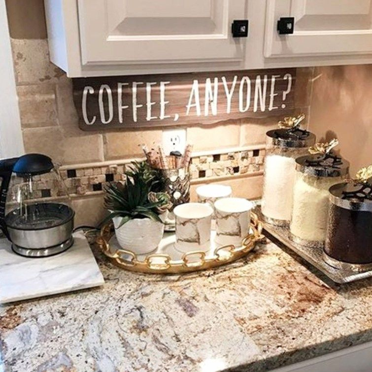 Kitchen Coffee Bar Ideas - 30+ Kitchen Coffee Bar PICTURES ...