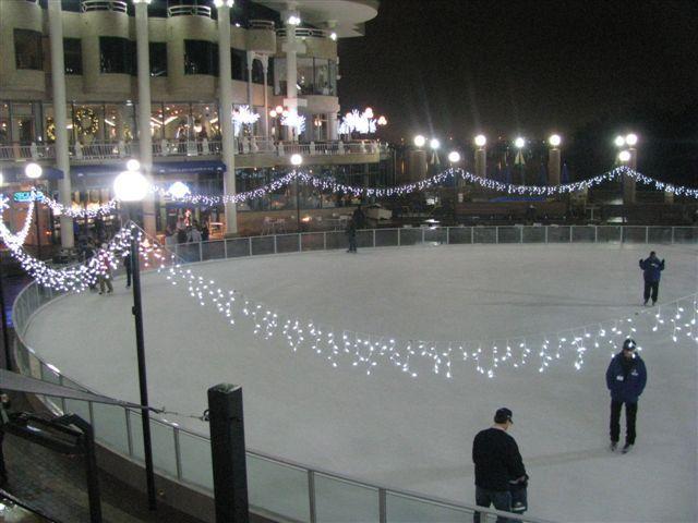 The Washington Harbor Ice Rink, Washington DC's largest ...