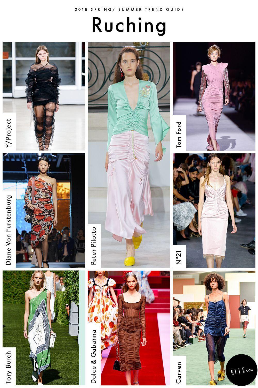 Spring 2018 Trend Report - ELLE.com's Comprehensive Guide To Spring 2018  Trends | Trends 2018 | Pinterest | Spring, Spring trends and Fashion  forecasting