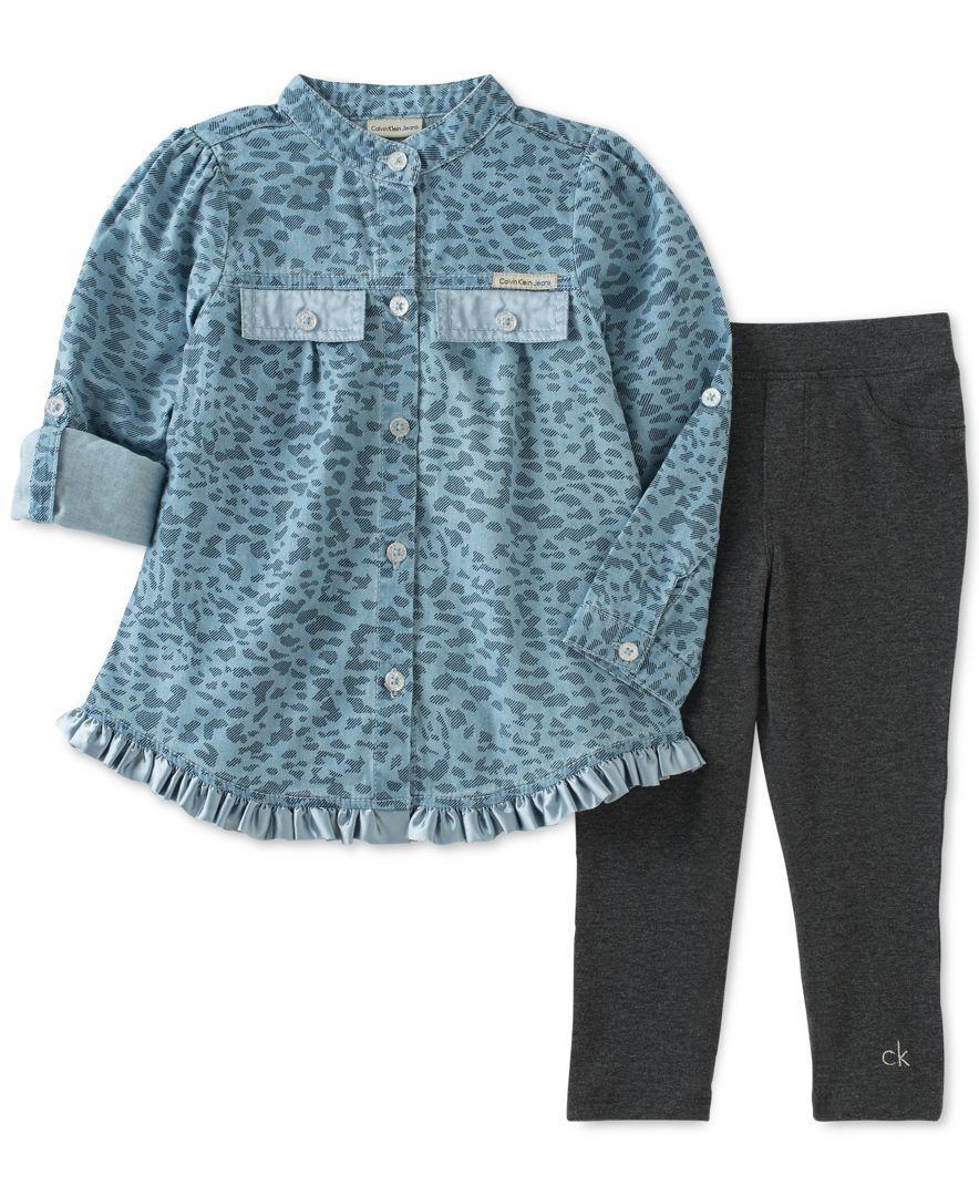 2PCS Letter Print Blouse Top Clothes+Pants Outfits Set Memela Baby Girls Clothes