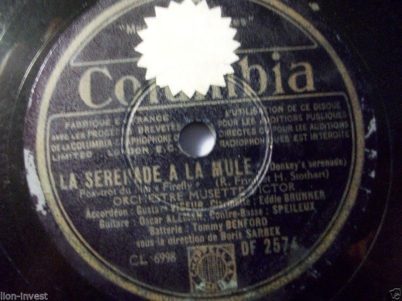 First and Big Auction 78rpm in 2017 Come in & find out :-)  !!! Startprice only 1,99 Euro !!!