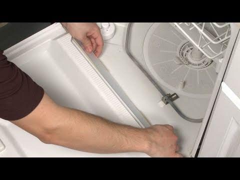 Bottom Door Wiper Gasket Replacement Part 154576501 Frigidaire Dishwasher Repair This Looks Wa Dishwasher Leaking Dishwasher Repair Frigidaire Dishwasher
