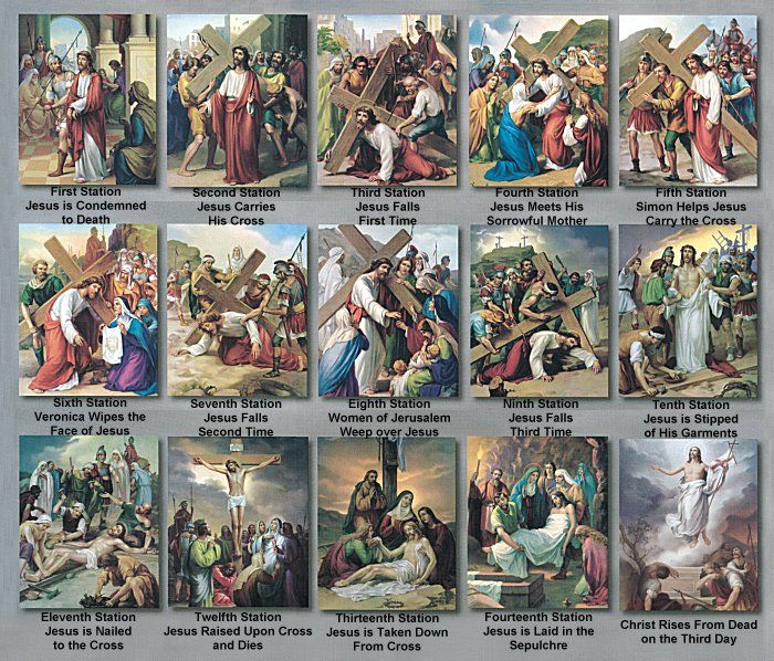 the stations of the cross - Google Search | Resurrection mural ...