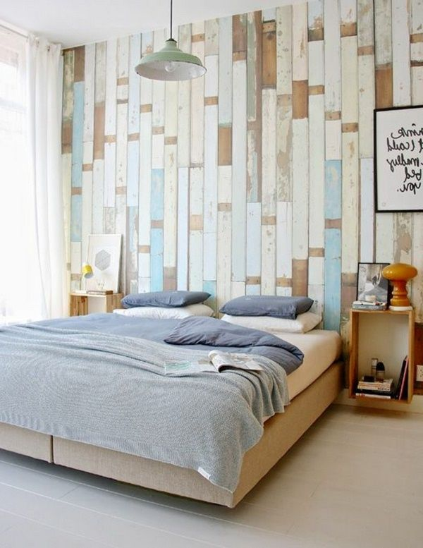 Wallpaper In Wood Finish 24 Effective Wall Design Ideas Decor10 Fresh Bedroom Wallpaper Bedroom Bedroom Wall