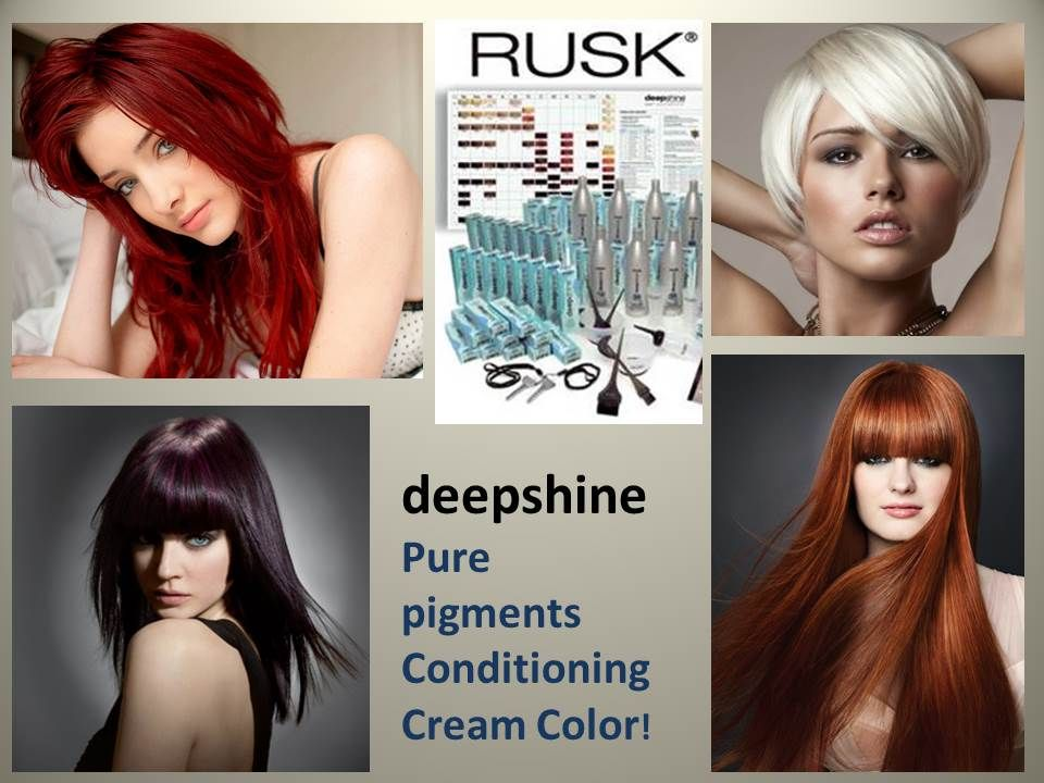 Rusk Deepshine Cream Color Pure Pigment Conditioning Hair Color