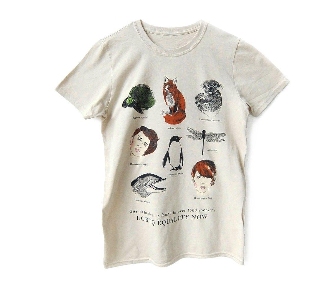 6ec225a4a61 Animals T-Shirt (Collab w  Tegan and Sara) - Sand - T-Shirts - Revel   Riot  Online Store