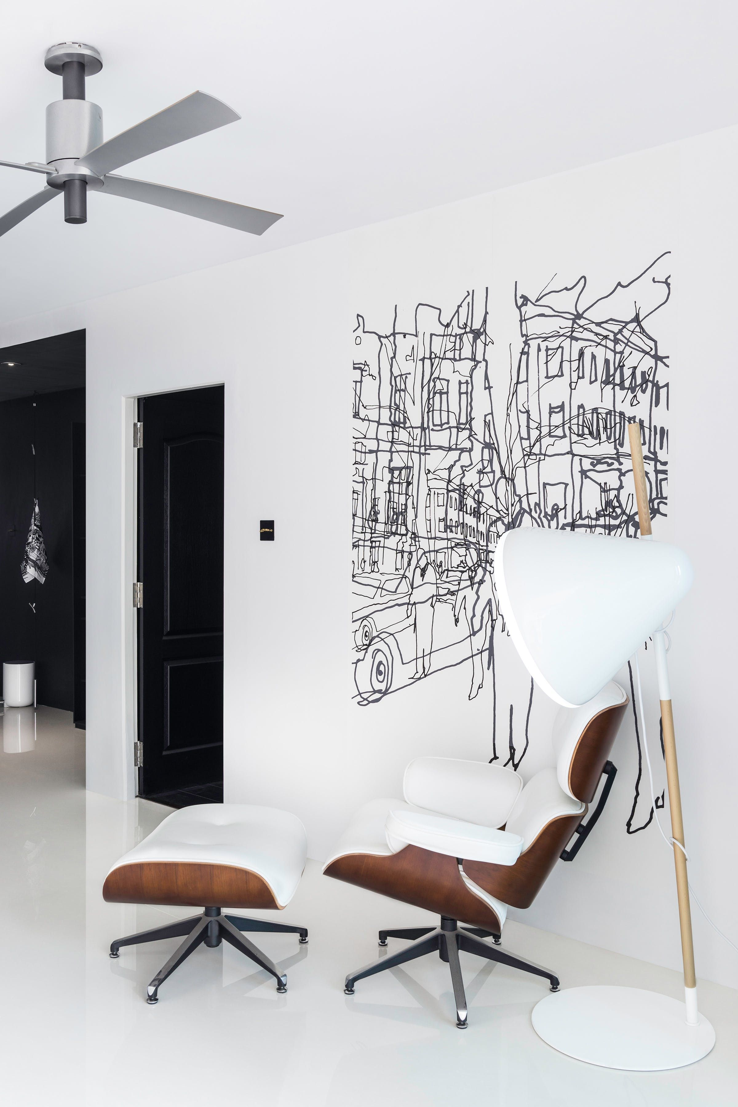 a young design manager brings scandinavian style to his