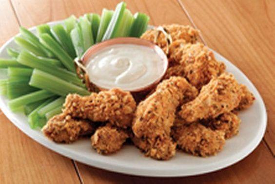 Alitas de pollo a la Wisconsin Receta: