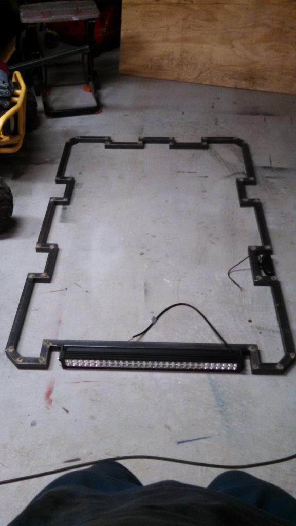 Light Platform/roof Rack   Jeep Cherokee Forum