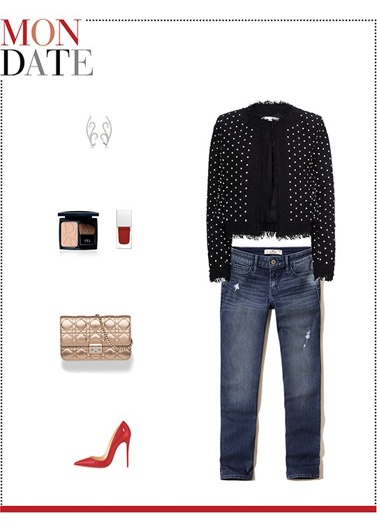 c24d92ec1a8 Mizhattan - Sensible living with style   MIZZY S WEEKLY WARDROBE  Hollister  Crop Jeans