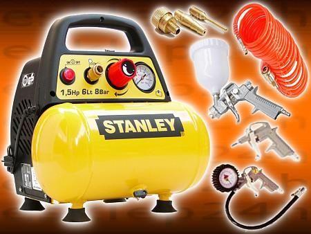 Stanley Kompresor Sprezarka 6l 8 Bar Zestaw 7el 4557651605 Oficjalne Archiwum Allegro Toy Car Toys Car