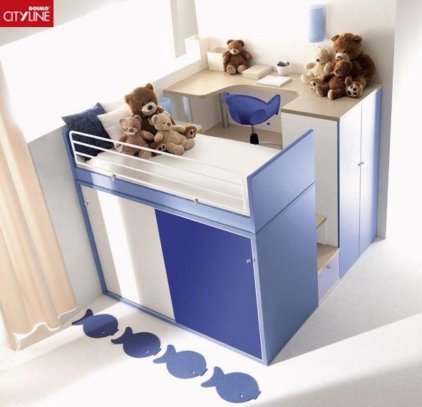 Cameretta Tana Del Lupo.Cameretta La Tana Del Lupo Doimo Cityline Kids Bedroom Sets