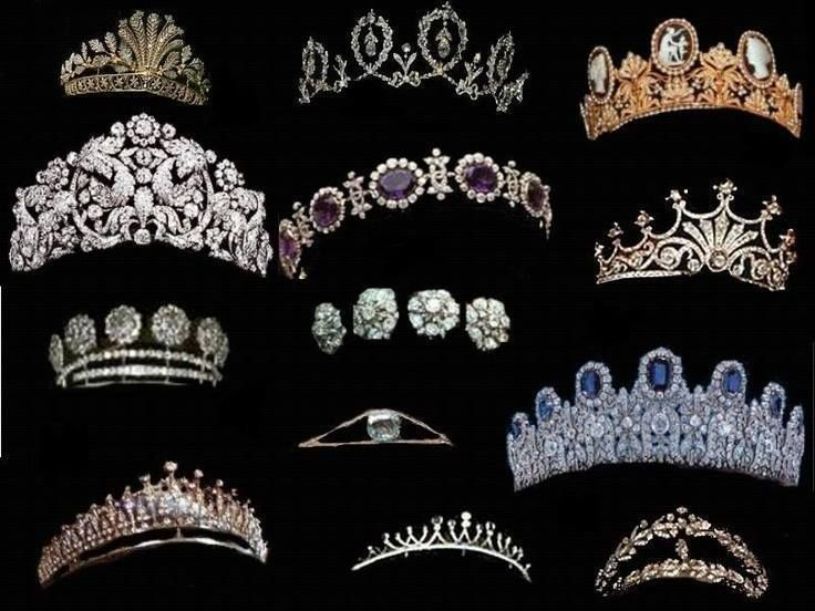 Oh, to be a Swedish lass... Tough decision!  Crowns of Sweden