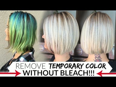 Remove Temporary Color S Without Bleach Hair Color Remover Manic Panic Hair Color Temp Hair Color