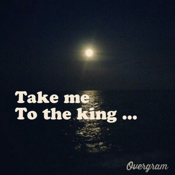 Take me to the KING, to star gaze forever.. <3