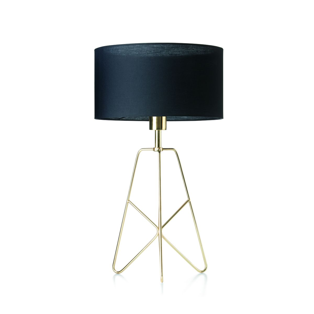 Brass Finish Table Lamp | Kmart