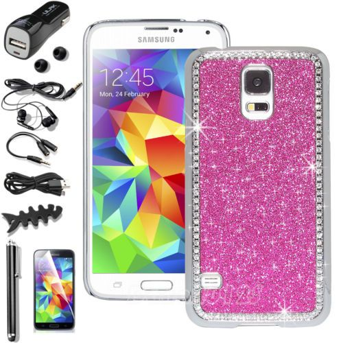 luxury bling glitter diamond slim hard case cover for