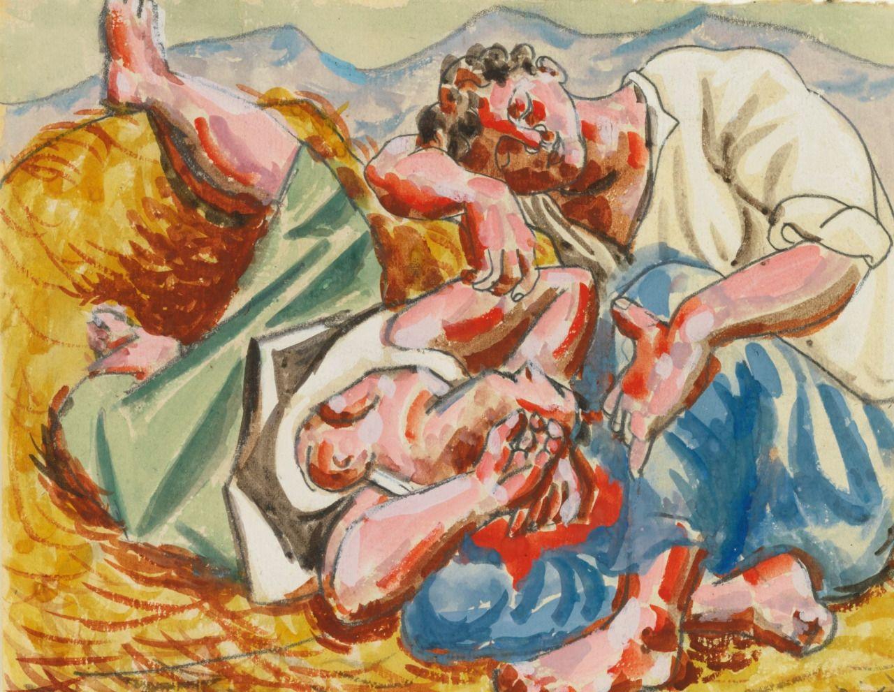 Pablo Picasso - Le Sieste - 1921