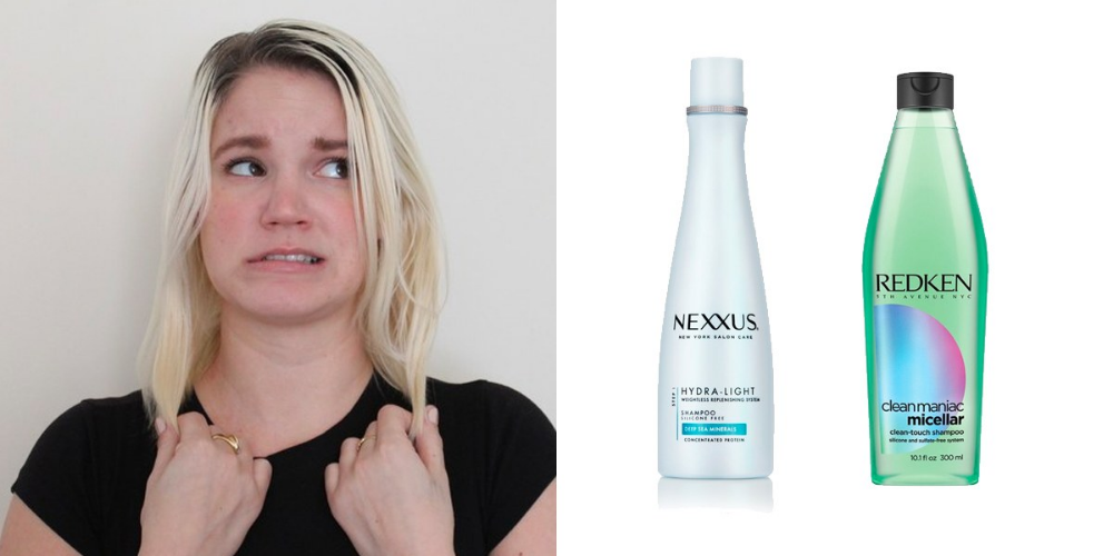 5 Shampoos for People Who Actually Have to Wash Their Hair Every Day #oilyhair