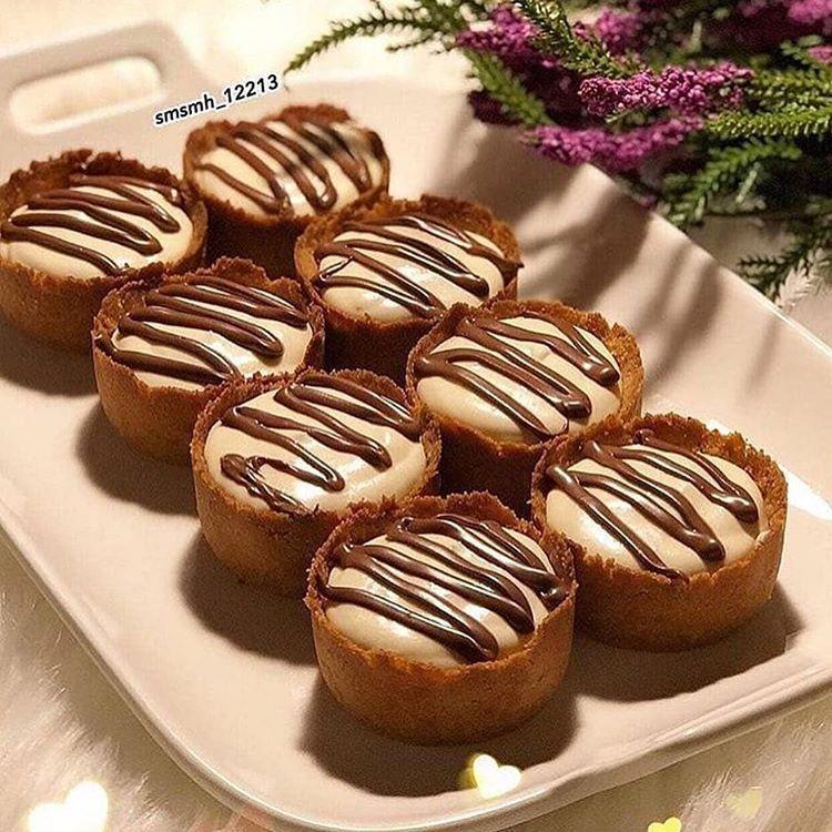 حلى كب البسكويت Desserts Food Breakfast
