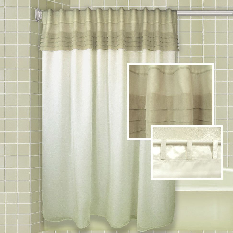 Geneva All In One Shower Curtain Shower Curtain Sets Curtains