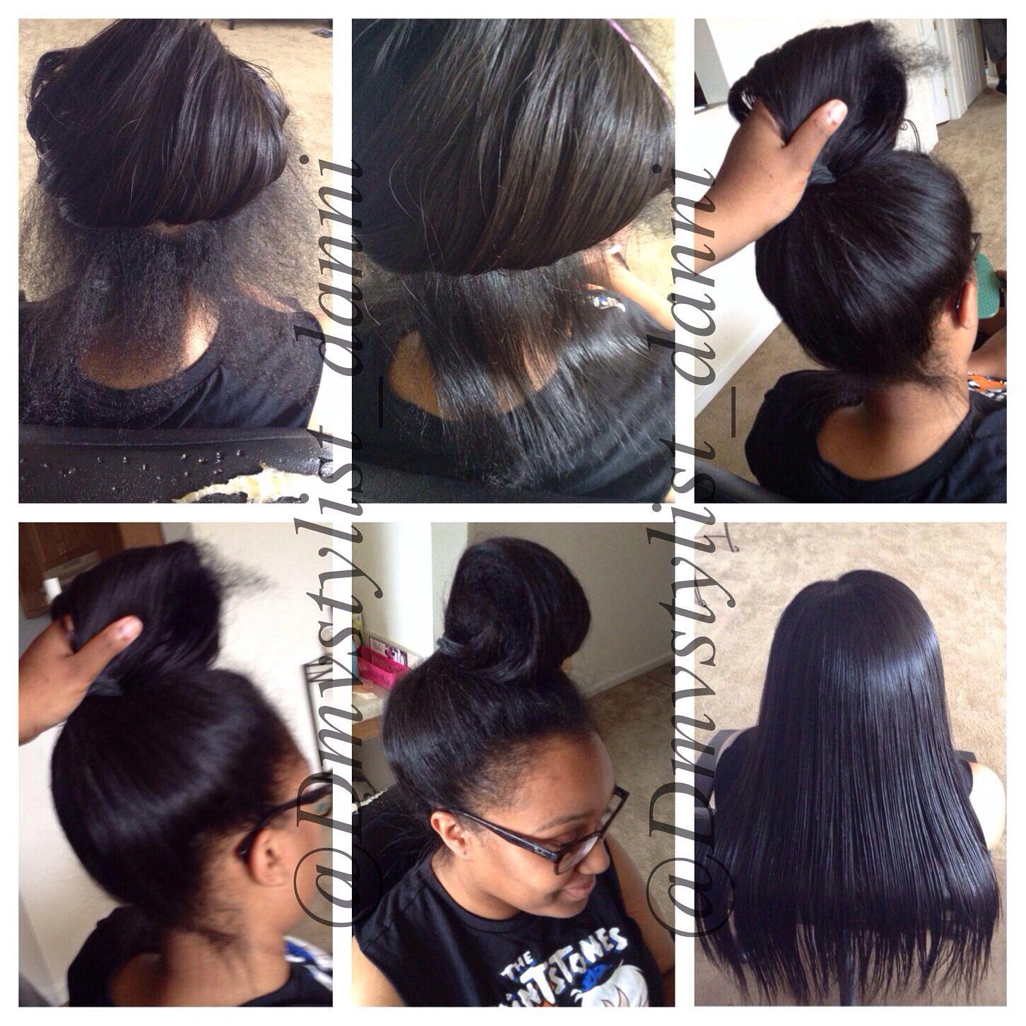 Versatile sew in long hair donut care pinterest hair goals