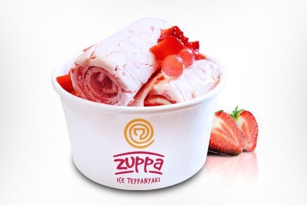 Ice Cream Rolls Logo Roll Yogurt Smoothies Food And Drink