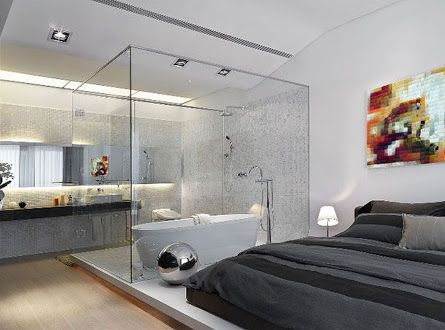 free standing bath in bedroom Google Search Attic rooms