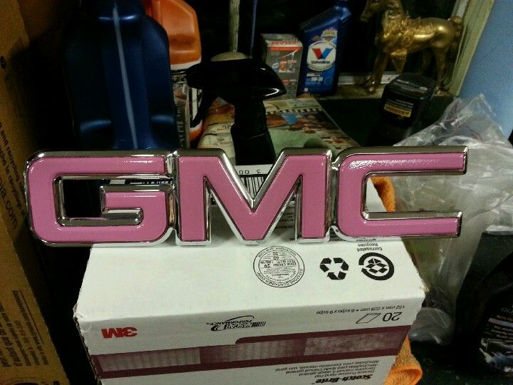 Pink Gmc Trucks And Girls New Car Accessories Suv Accessories
