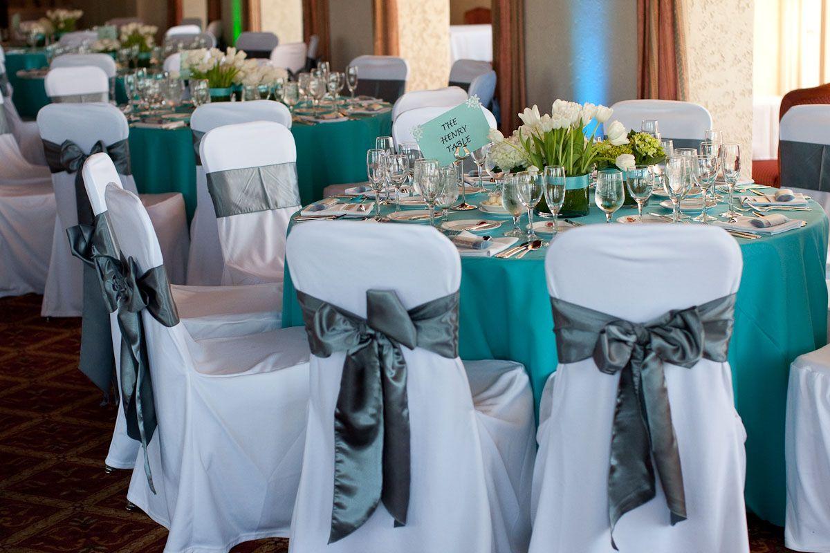 Deep Teal Gray And White Weddings Google Search Grey Wedding