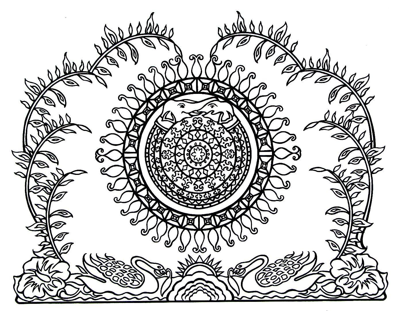 Rangoli Design Mandana Gujarat