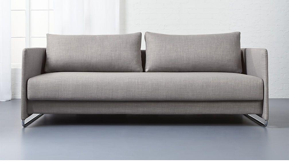 Tandom Grey Sleeper Sofa Best Sleeper Sofa Luxury Sofa Modern Sleeper Sofa