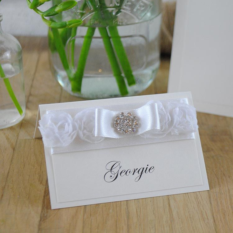 Exclusive Handmade Wedding Place Cards