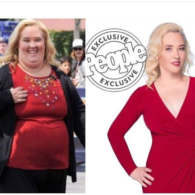 Ymama june shannons weight loss skinny pictures