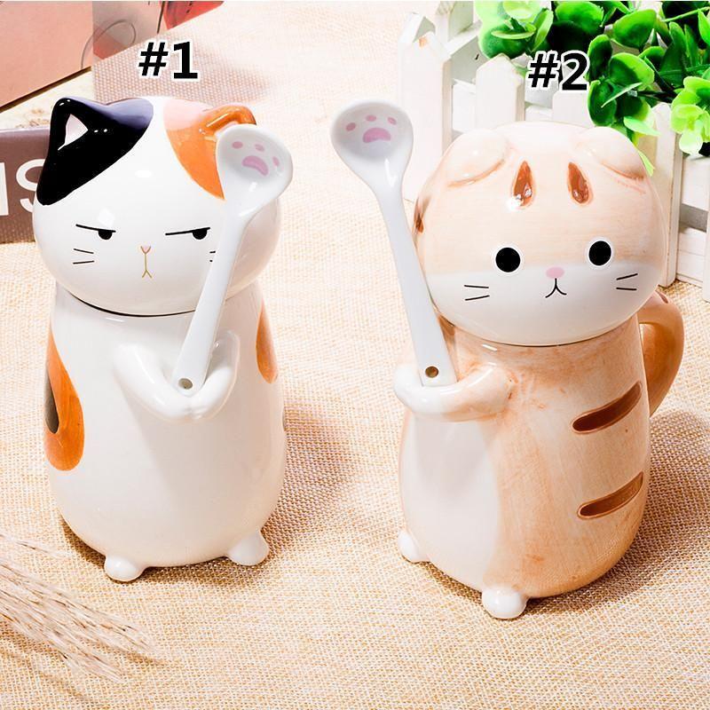 Kawaii Kitty Cat Ceramic Tea/Coffee Mug/Cup KW179151