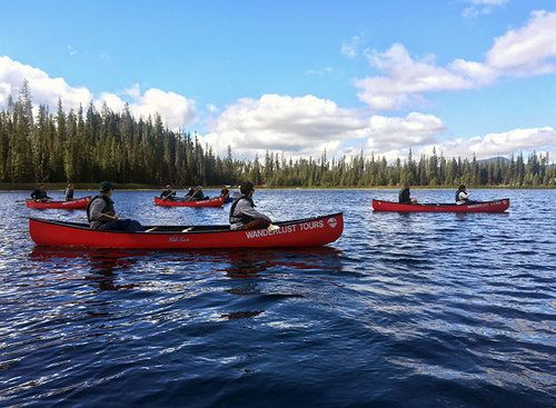 Wanderlust Tours offers half-day naturalist-guided tours and trips in Bend,  Sunriver and Sisters, Oregon. Things to do in Bend, Oregon.